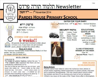 newsletter for website